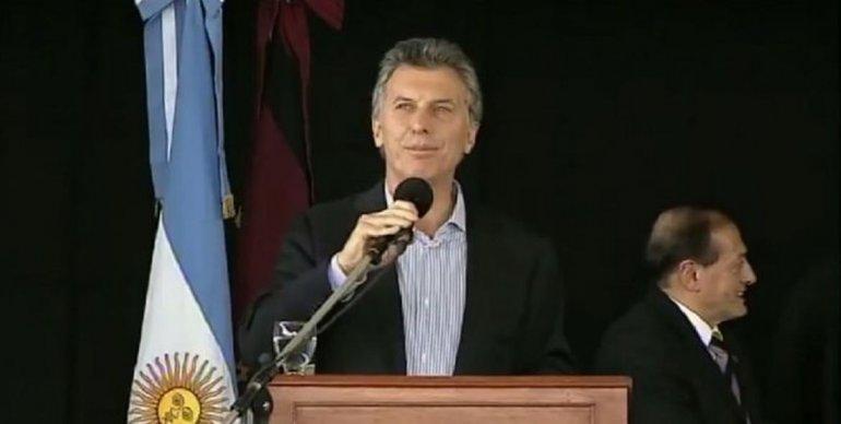 El presidente Macri encabezó un acto junto a Urtubey en Salta