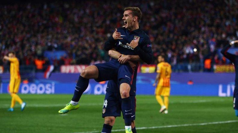 El Atlético de Simeone eliminó al Barcelona