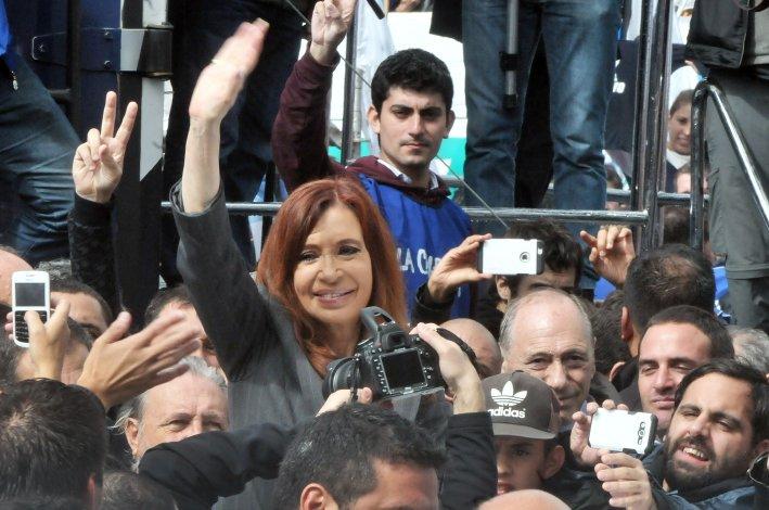 Cristina Fernández en Comodoro Py