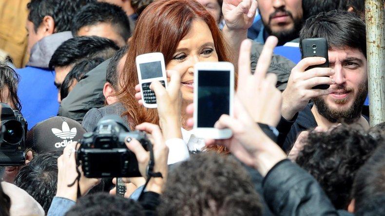 Cristina Fernández se reunió con Abuelas de Plaza de Mayo