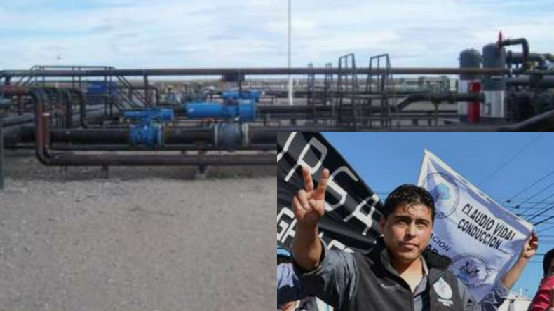 Petroleros paralizaron Piedra Clavada por 10 despidos