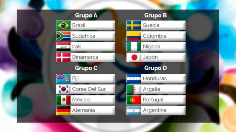 Argentina debuta ante Portugal el 4 de agosto
