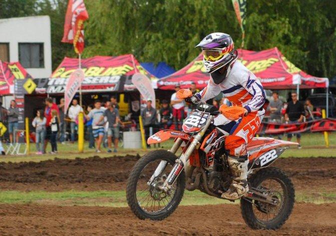Tomás Brazao viene de lograr una buena performance en el campeonato MX del Norte.