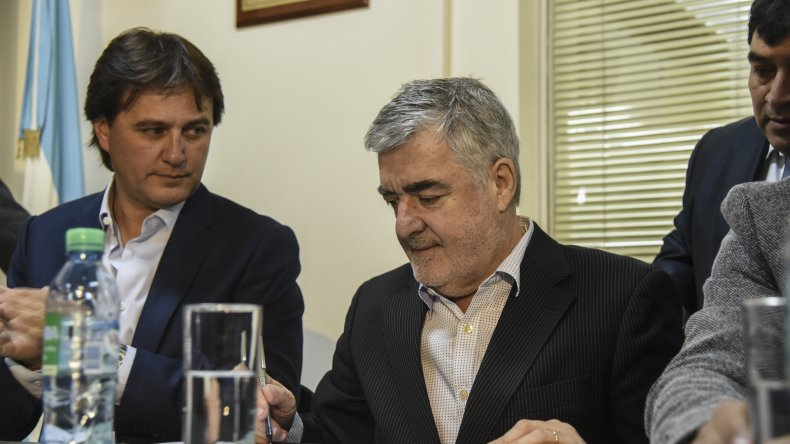 Ayer en Rada Tilly el intendente Juncos recordó algunas obras pendientes