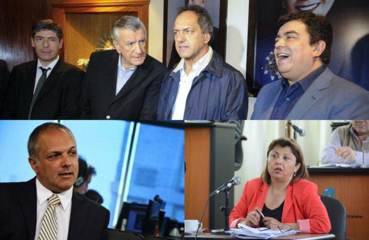 Buzzi y Navarro consejeros en la lista de unidad del PJ