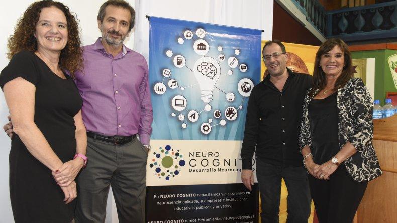 María Zysman y Alejandro Schujman realizaron una conferencia sobre bullying en Rada Tilly.