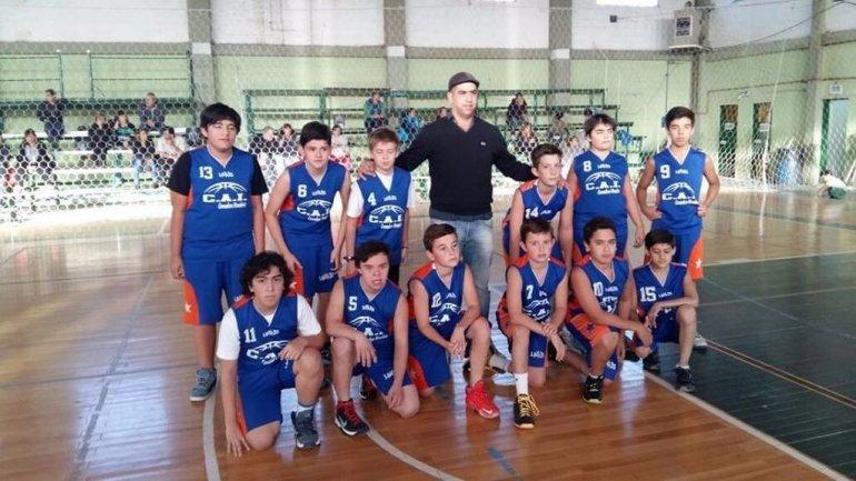 CAI cuenta con un equipo de básquet U13