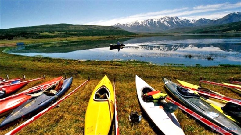 Las actividades más buscadas son el kayak y el trekking.