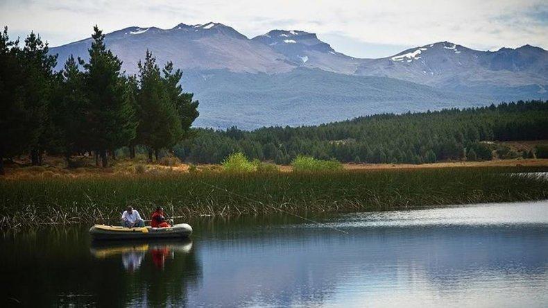 Con el debido permiso se puede disfrutar de la pesca.