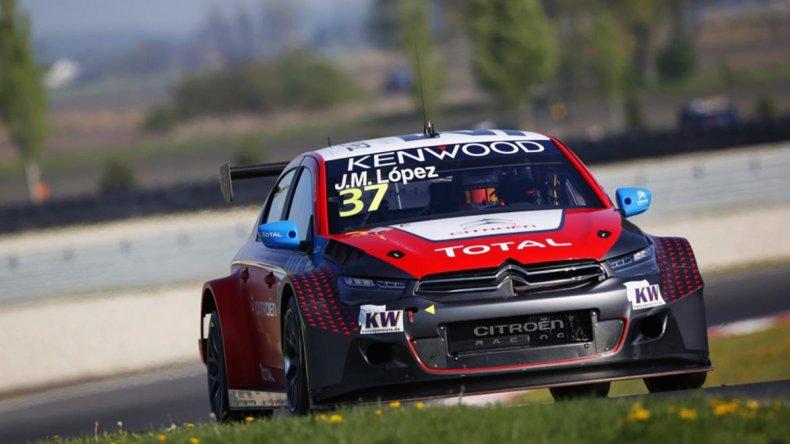 José María López obtuvo una gran victoria en Eslovaquia y marcha segundo en el campeonato del WTCC