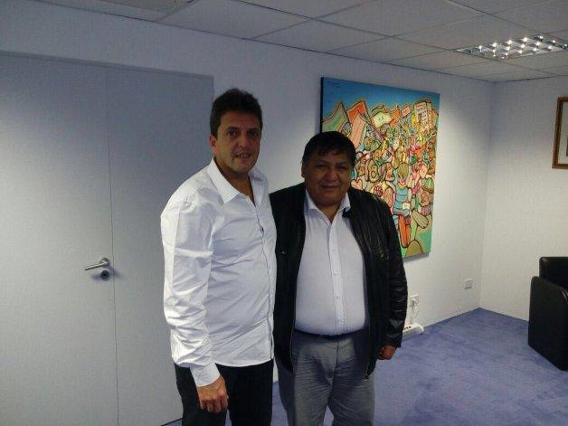 Massa y Avila acordaron un trabajo  conjunto para buscar la eliminación  del Impuesto a las Ganancias