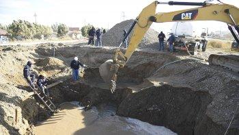 Los trabajos en el tramo Arenal– Ciudadela del acueducto se prolongaron más de lo proyectado.
