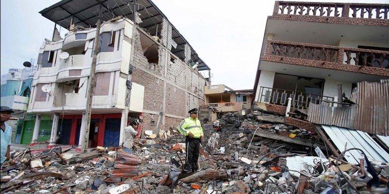La zona de Pedernales fue una de las más afectadas por el sismo.