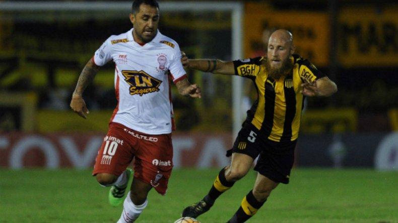 Huracán empató con Peñarol y se mide con el mejor de la Libertadores en Colombia.