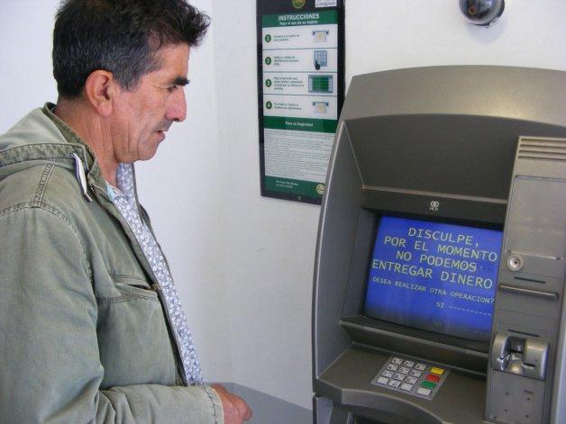 Esta vez también podrían verse afectados los cajeros automáticos por la medida de fuerza de los bancarios.