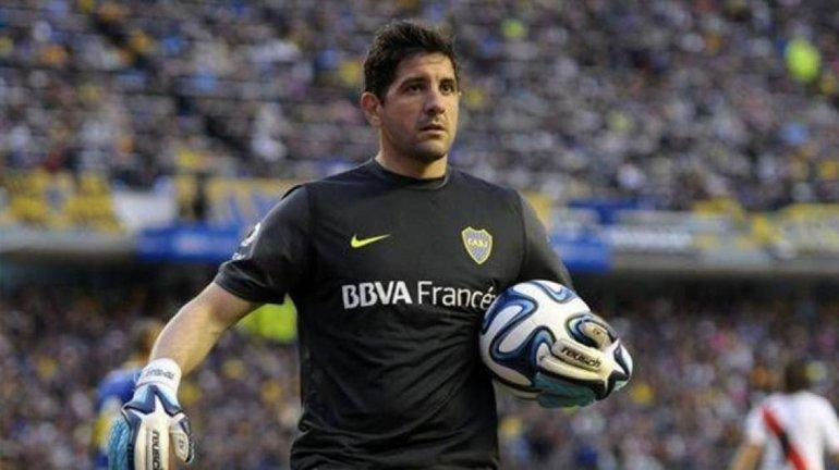El arquero Agustín Orión salió por lesión y no llegaría para dos compromisos significativos para Boca.