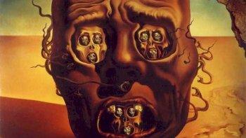Caras de la guerra: Salvador Dalí.
