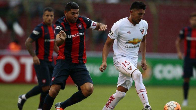 San Lorenzo se despide de la Copa en el Nuevo Gasómetro