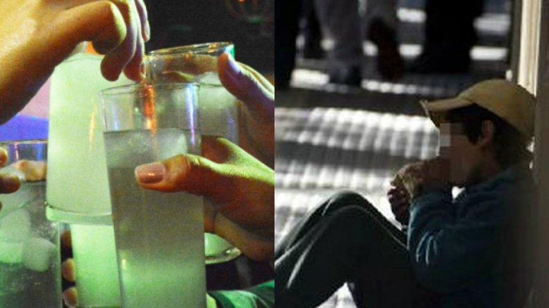 Alcohol, pegamento y marihuana: las drogas más consumidas en Comodoro