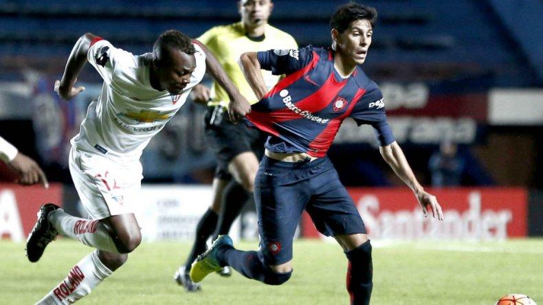 San Lorenzo se despidió con un empate ante Liga de Quito