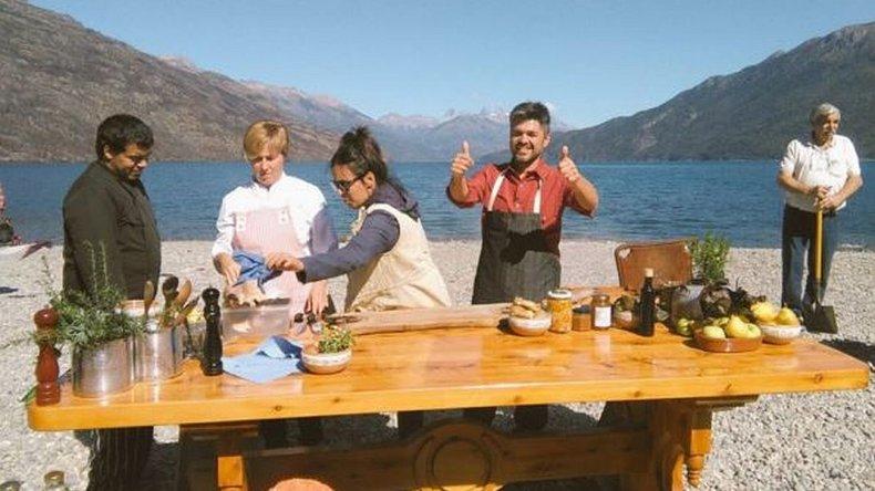 Cocineros argentinos desembarca en Lago Puelo