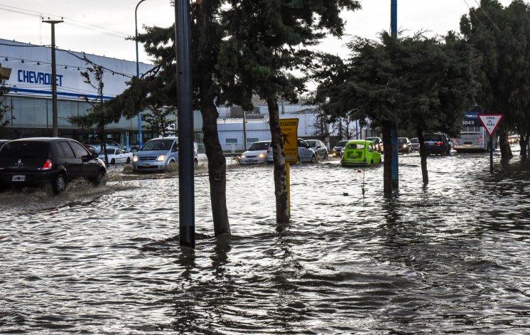 Para el sábado se espera la primera tormenta fuerte en Comodoro: caerían más de 20 mm de agua