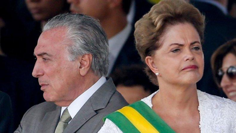 Temer ocupará la presidencia hasta que Dilma vuelva de EE. UU.