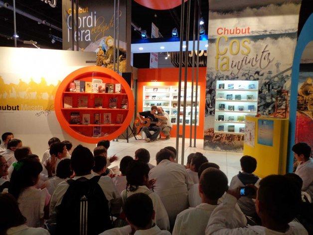 El stand de Chubut presentará como cada año espectáculos para diferentes edades