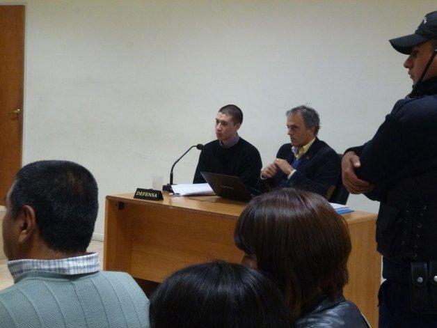 Cristian Rúa está siendo juzgado por el homicidio de Mauro Villagra