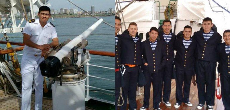 De cartonero a marino en la Fragata Libertad
