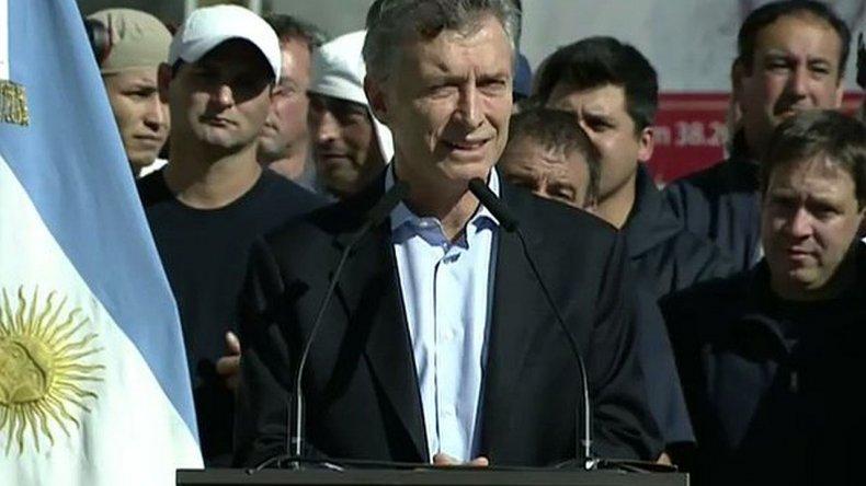 Macri manifestó su rechazo a la ley antidespidos