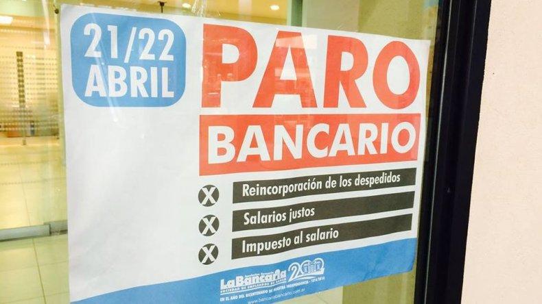 Bancarios no descartan que pueda suspenderse el paro de mañana