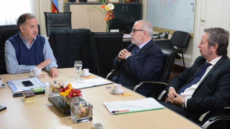 Autoridades del STJ discutieron con el municipio la obra de la Ciudad Judicial