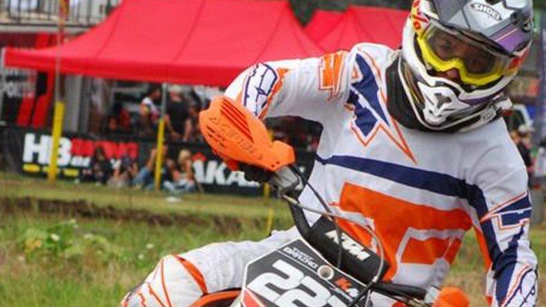 Tomás Brazao fue segundo en Zárate y quiere seguir sumando experiencia a nivel nacional este fin de semana.