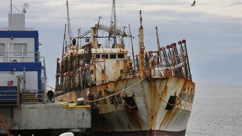 Preocupación por presencia de ratas  en el buque chino abandonado