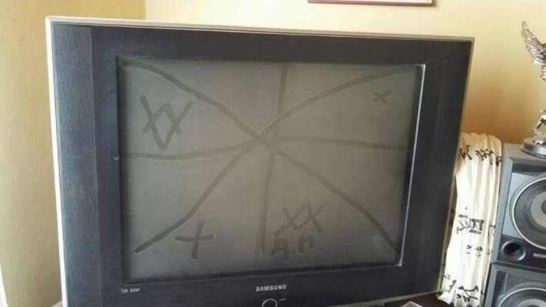 Estudian misteriosos símbolos aparentemente dejados por Capovilla