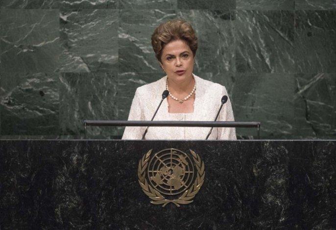 Dilma Rousseff habló en la ONU sobre el juicio político en su contra.az