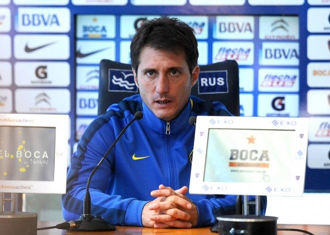 Guillermo Barros Schelotto tiene la mente puesta en el partido de mañana ante River