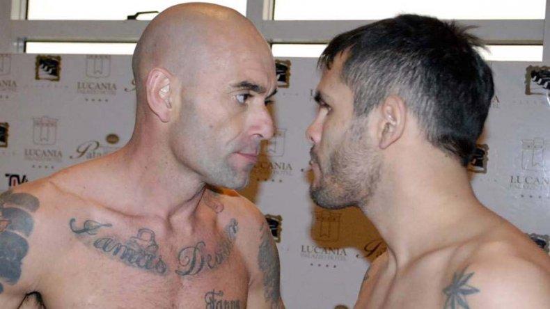Daniel Alvar y Emanuel Vallejos serán los protagonistas de la pelea de fondo esta noche.