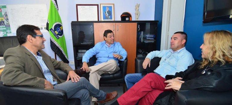 Concejales de Rawson se reunieron con el titular de la Agencia Provincial de Seguridad Vial para comenzar a analizar el proyecto de implementar controles de narcolemia.