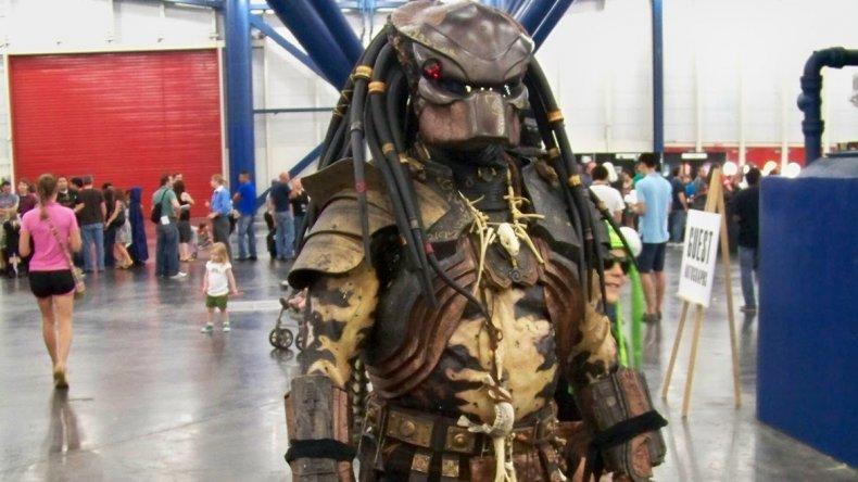 El evento congrega a miles de personas año a año y los fanáticos aprovechan la ocasión para vestirse de su personaje de ficción preferido.