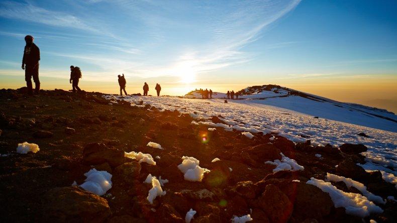 Las nieves del Kilimanjaro han sido parte fundamental del mito y poder de atracción de esta montaña