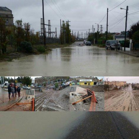 Nylon y atmosféricos para paliar las consecuencias de la lluvia