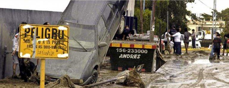 La tormenta de febrero de 2010 es la más recordada por los severos daños que dejó a su paso.