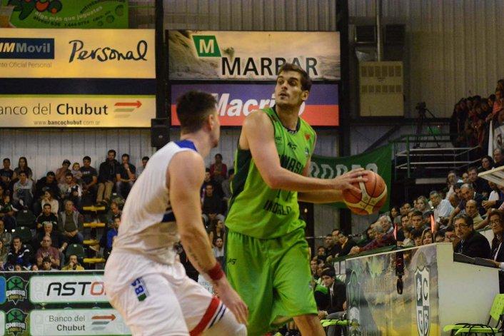 Leonardo Mainoldi fue el goleador de Gimnasia Indalo con 18 puntos
