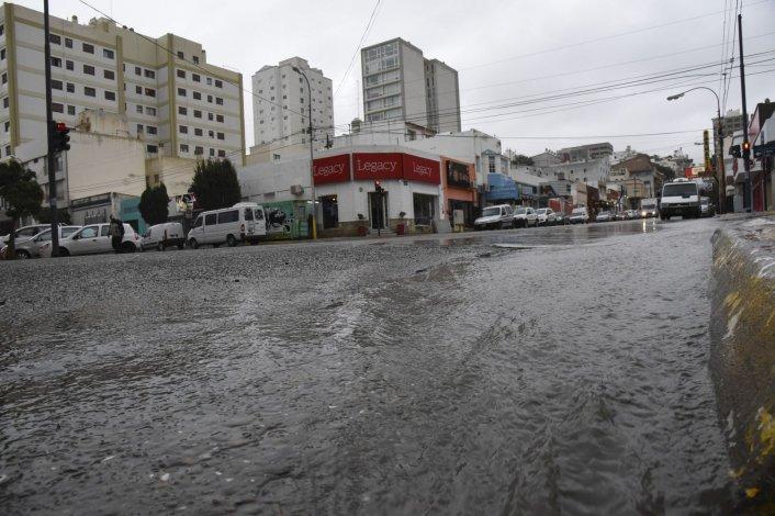 Lluvia en Comodoro Rivadavia