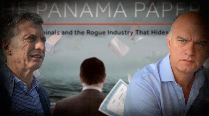 Macri y Grindetti sumaron otra denuncia por los Panamá Papers