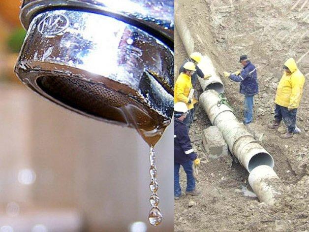 Corte de agua en cinco barrios de Zona Norte