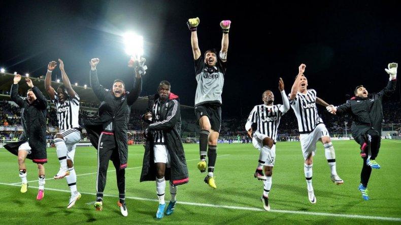 La Juventus otra vez campeón de la Liga italiana, con Dybala como figura