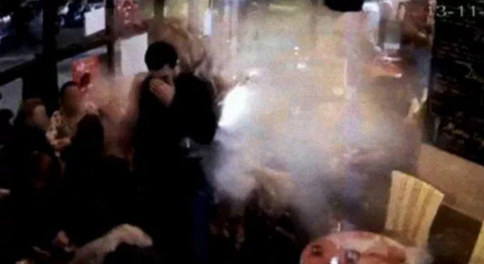 Así se inmoló uno de los terroristas de los ataques en París